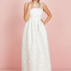 Where There's Life, There's Elope Ivory Maxi Dress